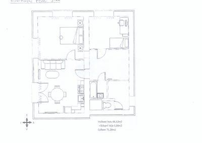 Přestavba bytu_plánek