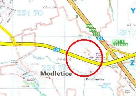 Prodej pozemků, <span>Modletice komerční zóna</span> <i>10 000 m<sup>2</sup></i>